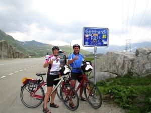 Simone und Anton Ochsenkühn auf ihrer Kulturradreise 2011.