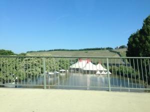 Das Afrika-Fest in Würzburg ist komplett abgesoffen. Total schade.