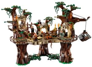 Wunderschöne Details beim Ewoks-Dorf - Lego Set 10236.