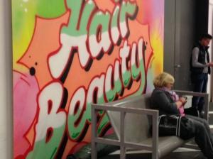 So stellt man sich also Graffitti vor.