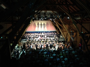 Musikalisch absolut top, die Carl Orff-Festspiele in Andechs.