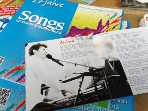Meine Fotoarbeiten im Booklet von Roger Stein.