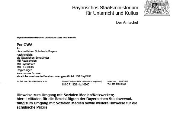 Briefe An Lehrer Schreiben : Bayerisches kultusministerium empfiehlt lehrern defensiven