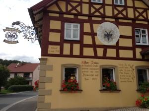 Der Schwarze Adler in End (Bad Staffelstein).