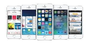 Das neue Betriebssystem von Apple iOS7.