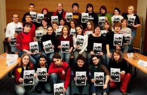Schüler aus Niederbayern erstellten mit den Infos von Herbert Mair eine Seminarzeitung.