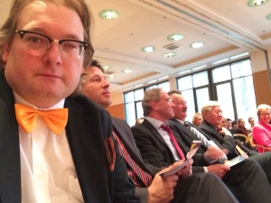 Als Jury-Mitglied durfte ich vorne sitzen.