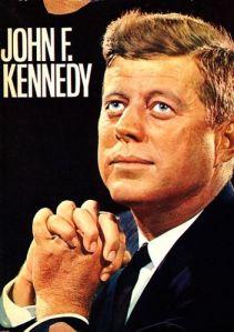 Eines der Bücher aus meinen Archiv über JFK.