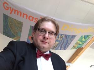 Bei einem Vortrag war ich zu Gast am Gymnasium Dingolfing.