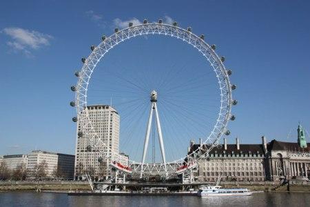 Wahr oder falsch? Brennt das London eye?