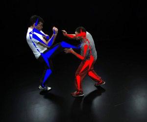 Kein Filmstudio notwendig: Die Bewegungen von Personen können in der Natur erfasst werden, um so virtuelle Figuren zu animieren. Foto: Hasler/MPI