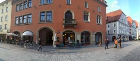 Pano vom Straubinger Rathaus.