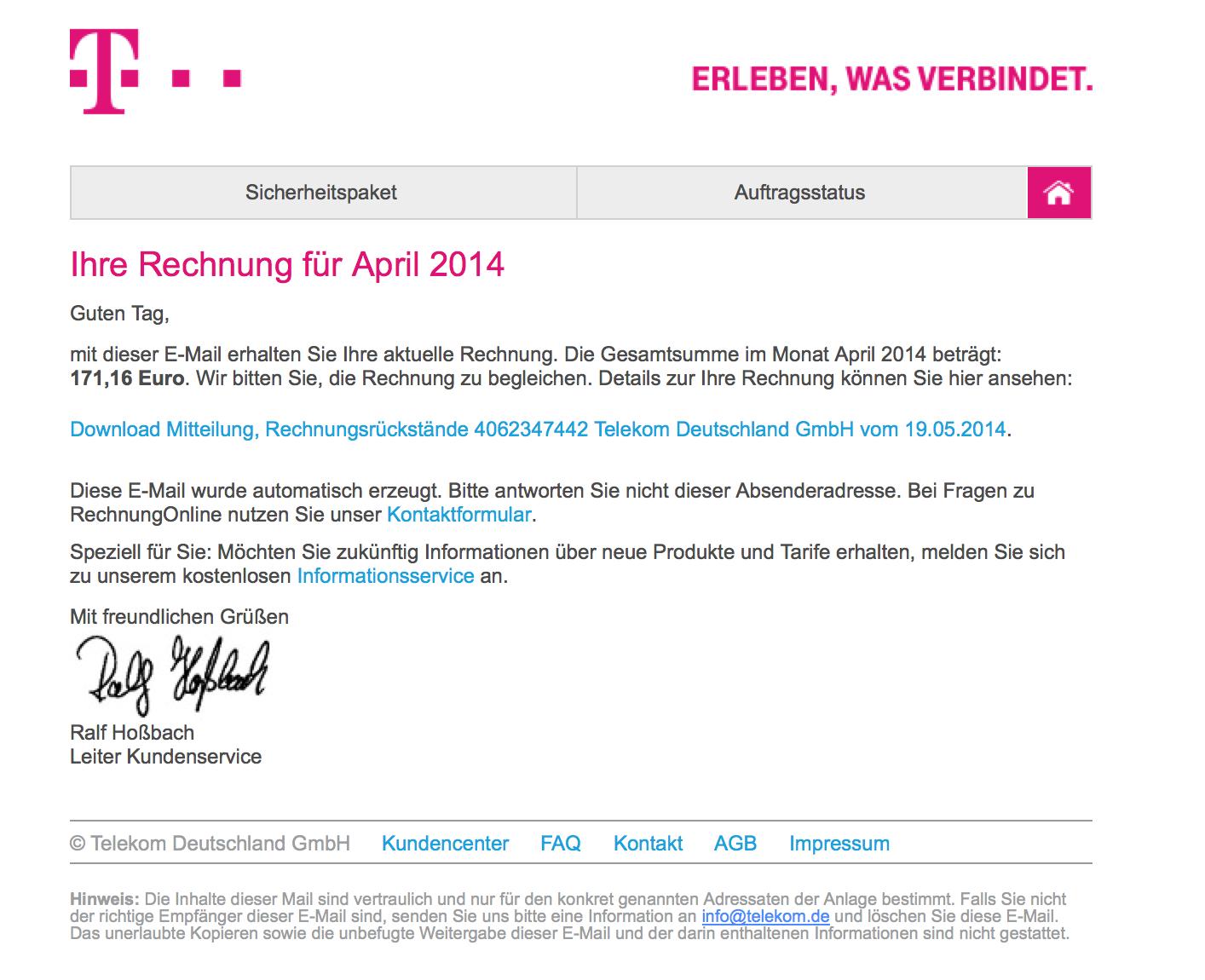 Fiese Phishing Mails Nehmen Zu Drei Beispiele Redaktion42s Weblog