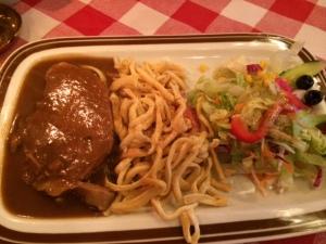 Schwäbisches Essen in Berlin.