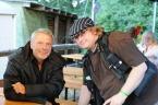 Kurze Begegnungen mit Reinhard Mey. Foto: Ortlieb