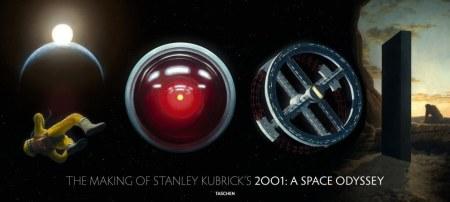 Ein neues 2001-Buch von Taschen und ich darf mit Kubricks Erben sprechen. Foto: Taschen