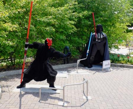 Sammelpunkt für alle Star Wars Fans  im Legoland.