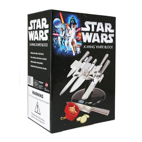 Star Wars: Messerblock in Form eines X-Wing-Fighters | redaktion42\'s ...