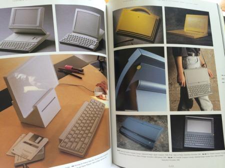 Die Brain Box (1989) oder Portable Computer (1989).