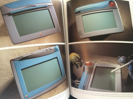 Apples Figaro-Tablet, freilich noch mit Stift von 1989