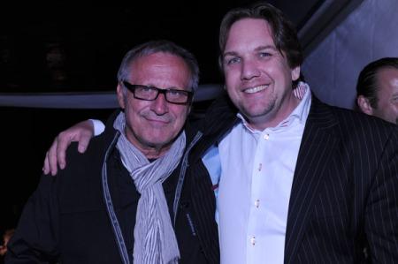 Konstantin Wecker und Matthias Brodowy. Foto: Lange
