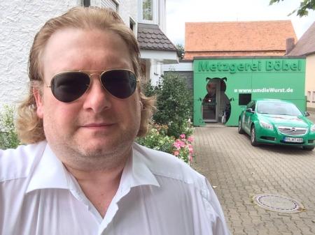 Besuch bei Claus Böbel in Rittersbach.