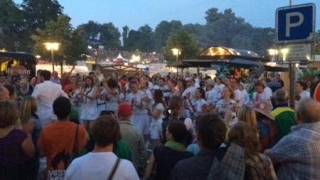 Samba auf dem Coburger Schlossplatz