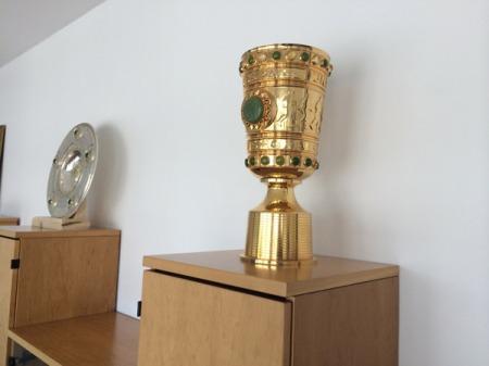 Heiligtümer für Löwen-Fans.