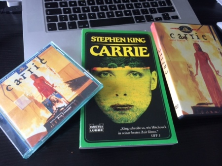Vor 40 Jahren erschien Stephen King Roman Carrie.