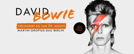 Wunderbares Plakat zur David Bowie Ausstellung in Berlin.