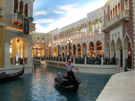 Nicht Venedig, sondern Las Vegas zeigt das Bild.