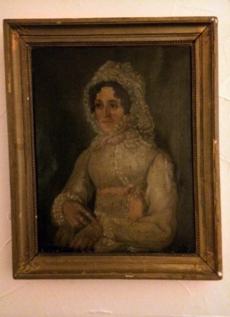 Die weiße Frau als Ausgangspunkt unserer Gruselgeschichte in Bad Hindelang.