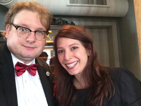 Selfie mit Comicstar Sarah Burrini