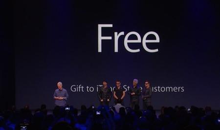 Free Economy - Tim Cook und Bono liefern ein Musterbeispiel der Wirtschaft im Internet ab.