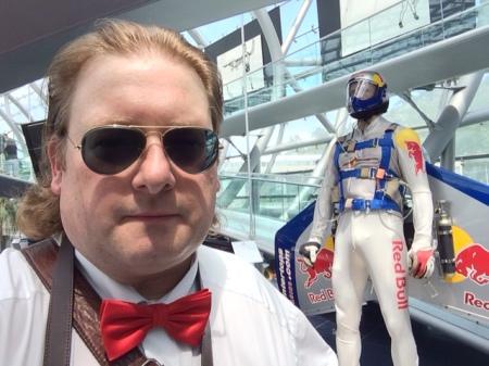 Der SkyRay-Anzug von Felix Baumgartner.