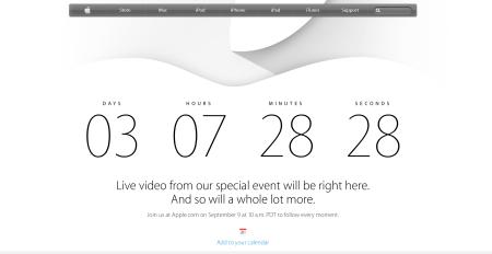 Der Countdown für Apple läuft