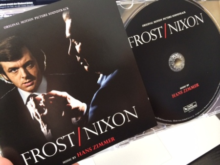 Guter Soundtrack: Frost vs Nixon von Hans Zimmer.