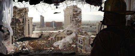 Auch im neuen Godzilla gibt es Verwüstungen.