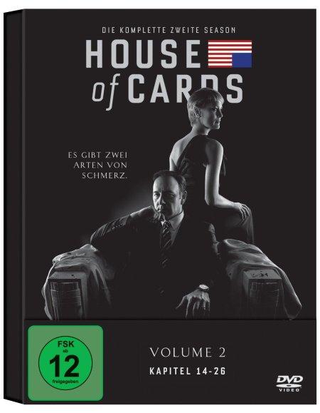 Die zweite Staffel von House of Cards.