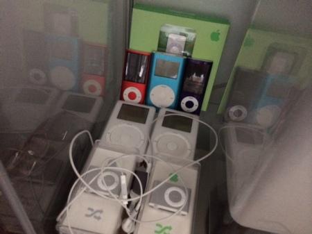 Hier ein Ausschnitt meiner iPod-Sammlung