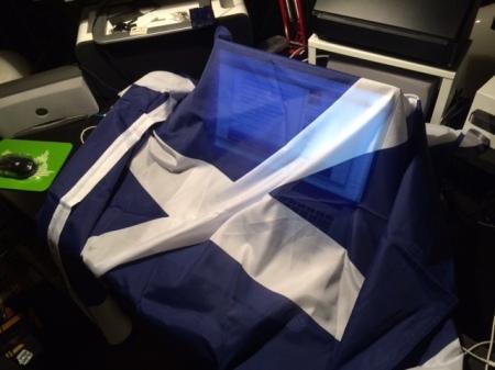 Am Tag des Referendums werde ich meine Schottland-Fahne hissen.