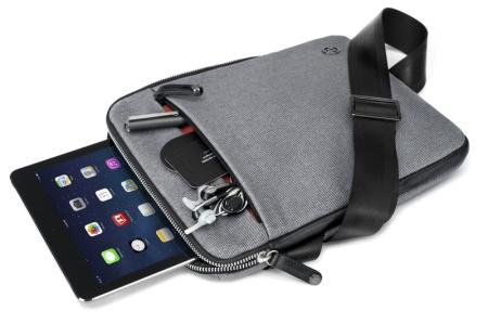 Das Bionic-Material der Cobra sling von Booq ist schön und strapazierfähig.