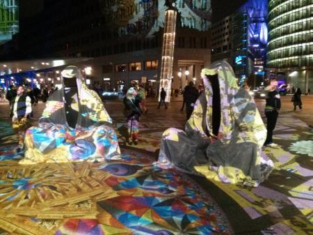 Wächter der Zeit - derzeit in Berlin. Foto: Tanja Kaiser