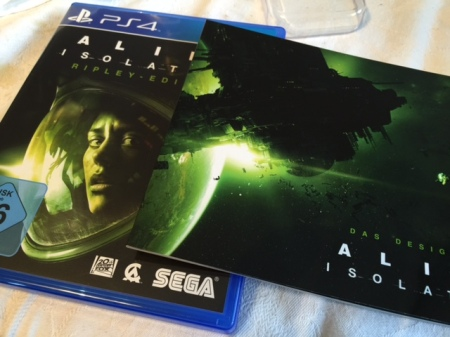 Spiel samt Art-of-Booklet: Alien Isolation