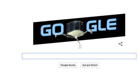 Google würdigt die Leistung mit einem Doodle.