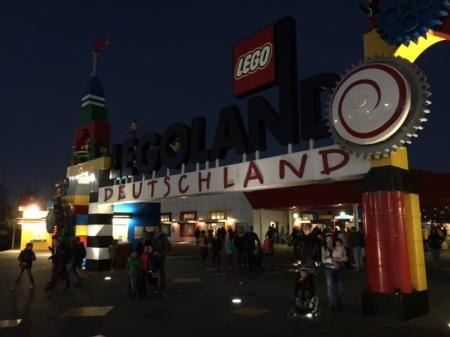 Aus und vorbei - die Legoland Saison 2014 ist zu Ende.
