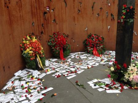 Erinnerungen an die Opfer.