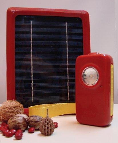 Solarleuchte für die Dritte Welt.