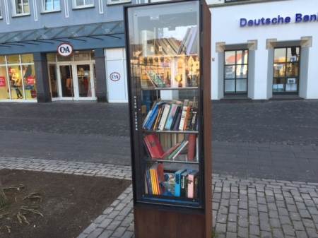 Bücherschrank in Xanten