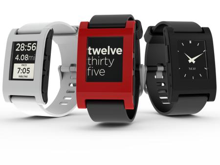 Die Pebble ist die meistverkaufteste Smartwatch bisher.